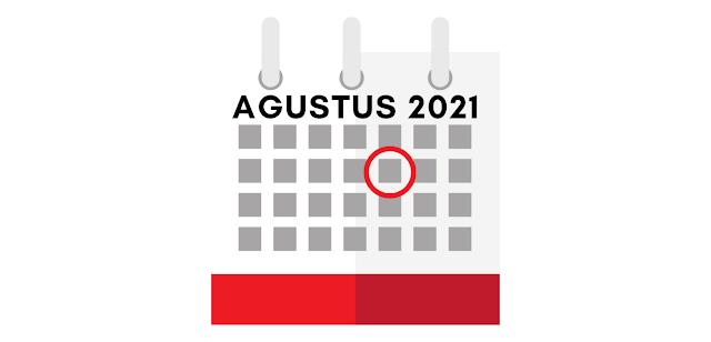 Tanggal Merah Bulan Agustus 2021