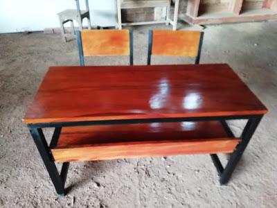 meja sekolah besi