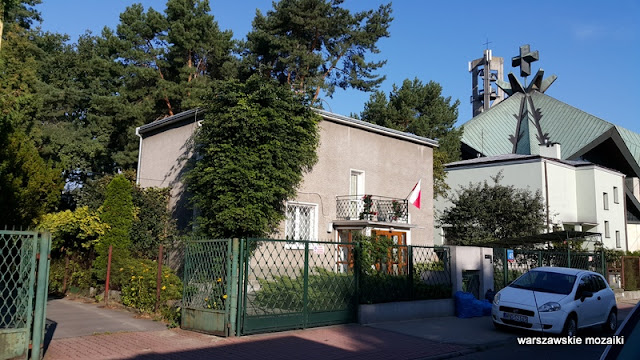Warszawa Warsaw osiedla spółdzielnie Stare Bielany architektura