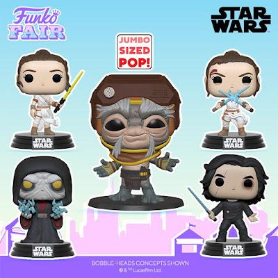 Star Wars: The Rise of Skywalker Pop! Series 2 Vinyl Figures by Funko