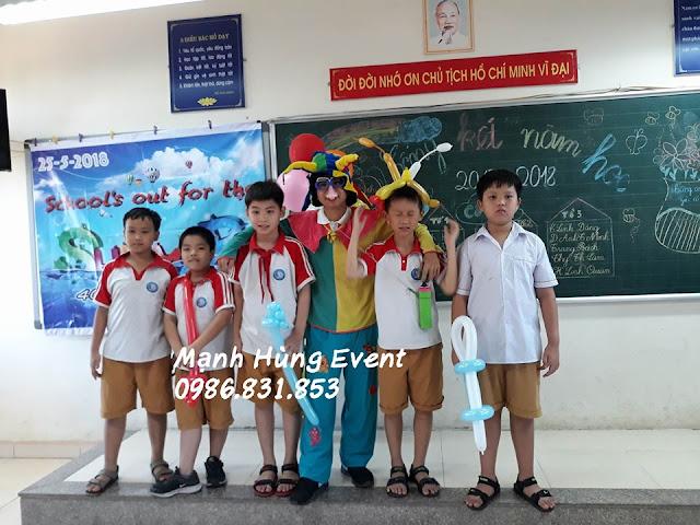 Chú Hề Thổi Bong Bóng Giá Rẻ tại Hà Nội