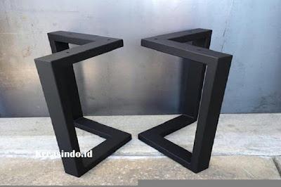 Model Kaki Meja Stainless dan Besi