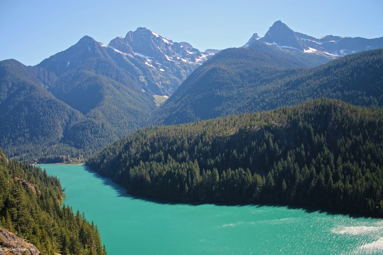 north Cascades National Park Oso landslide Mount Baker volcano glacier Washington copyright rocdoctravel.com