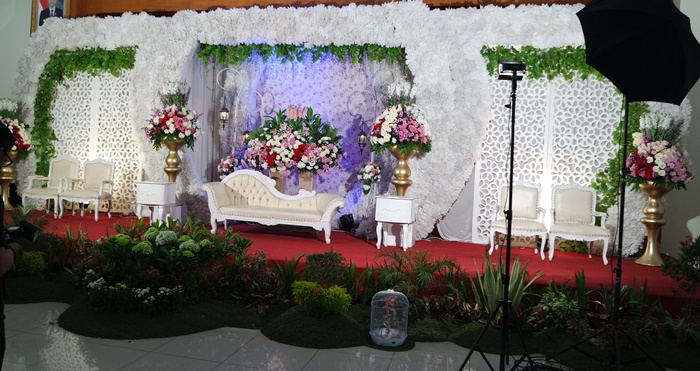 kreasi cantik dekorasi pernikahan