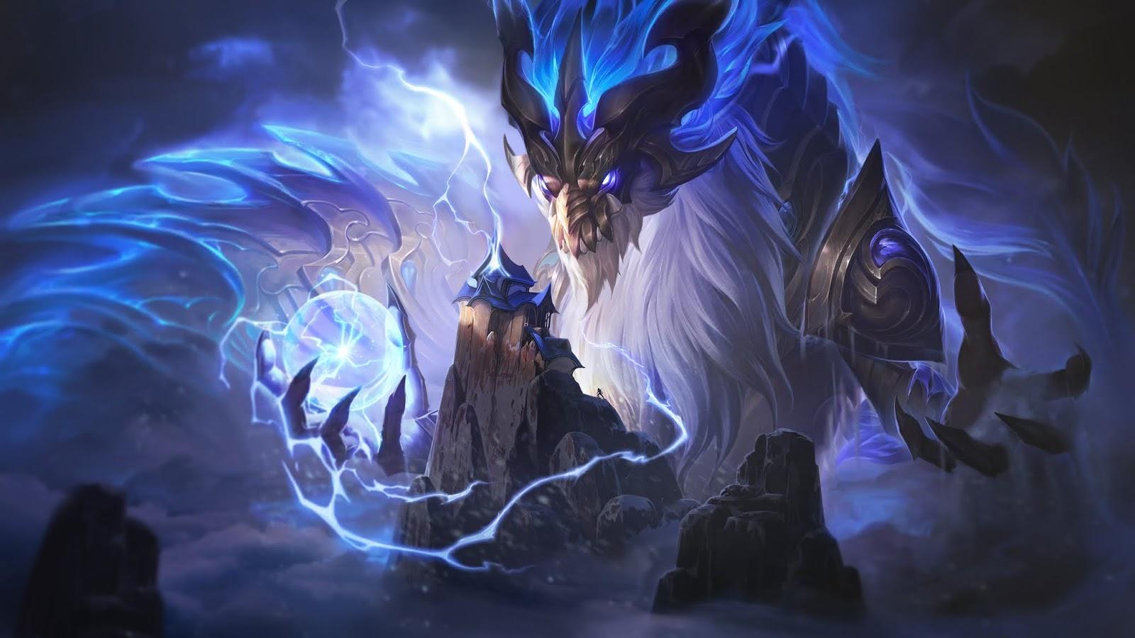 Storm Dragon Aurelion Sol Skin: Splash Art, Release Date, and