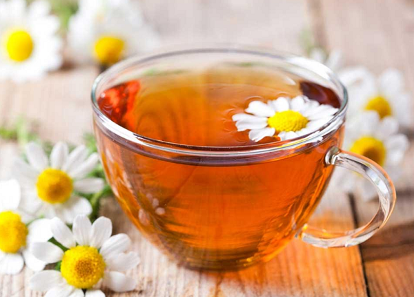 What are the benefits of chamomile tea for diet ?