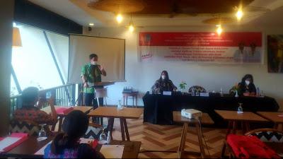 Wagub Steven Buka Pelatihan Sistem Pendataan Kasus KtPA/TPPO