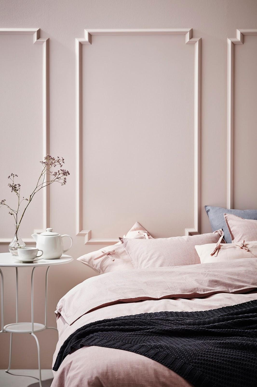 Dormitorio de IKEA EN TONOS PASTEL