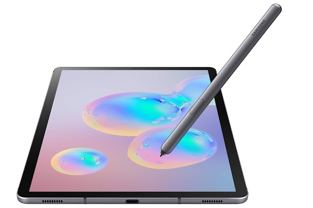 Premiere: Samsung unveiled its first tablet with a built-in screen dactoscan - Galaxy Tab S6
