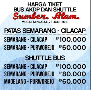 Tarif Bus Semarang Cilacap