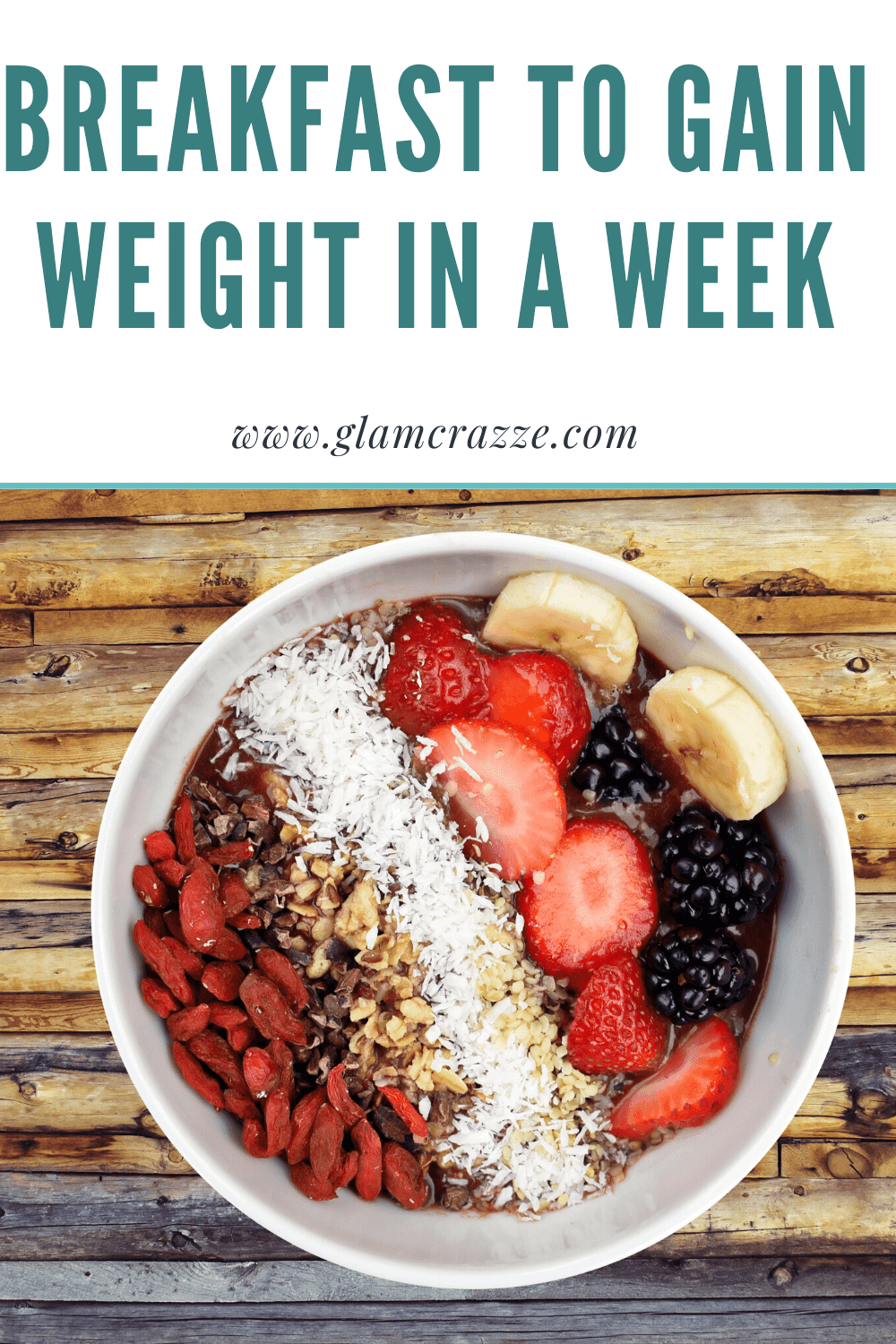 How to gain weight in a week have healthy breakfast