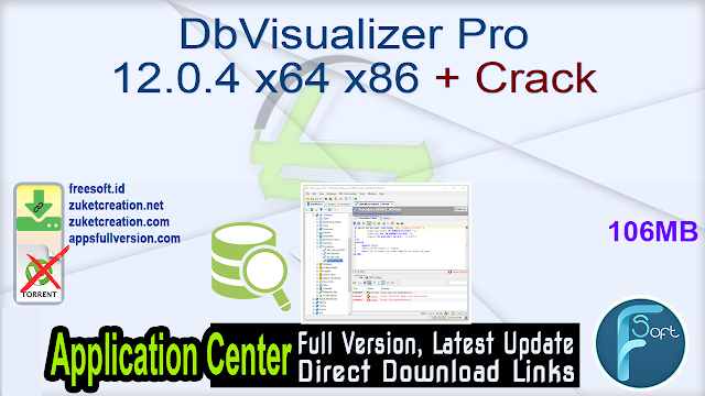 DbVisualizer Pro 12.0.4 x64 x86 + Crack
