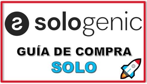 Cómo y Dónde Comprar Criptomoneda SOLOGENIC (SOLO)