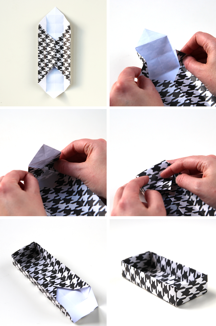 HOW TO MAKE DIY RECTANGULAR ORIGAMI GIFT BOXES.