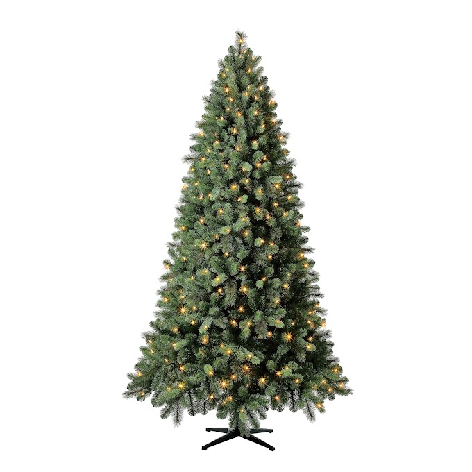 $68.00 Evergreen Classics® Pre-Lit Norwich Spruce Quick Set® Artificial Christmas Tree @ Walmart