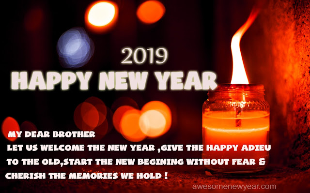 Happy New Year 2019 Quotes for Brother | Latest Wishes, Sayings