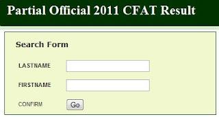 MMSU CFCAT result 2011