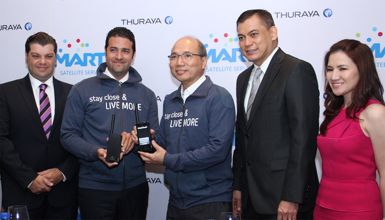 Smart partners with Thuraya to boost satellite business
