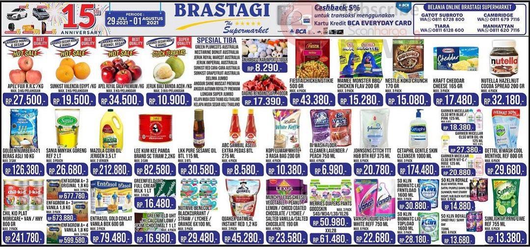 Katalog Promo JSM Brastagi Weekend 29 Juli - 1 Agustus 2021