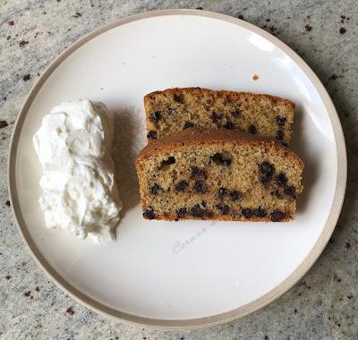 Part du gâteau 100 grammes accompagnée de chantilly maison