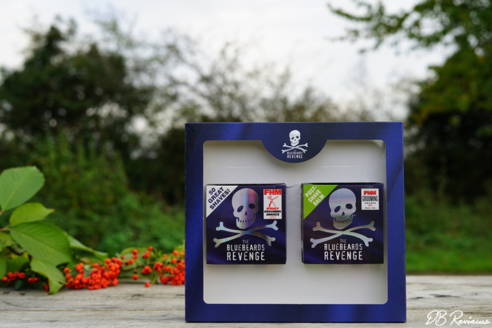 The Bluebeards Revenge Shaving Cream and Post-Shave Balm Kit