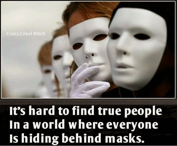 My Favourite Quotes Everyone Is Hiding Behind Masks