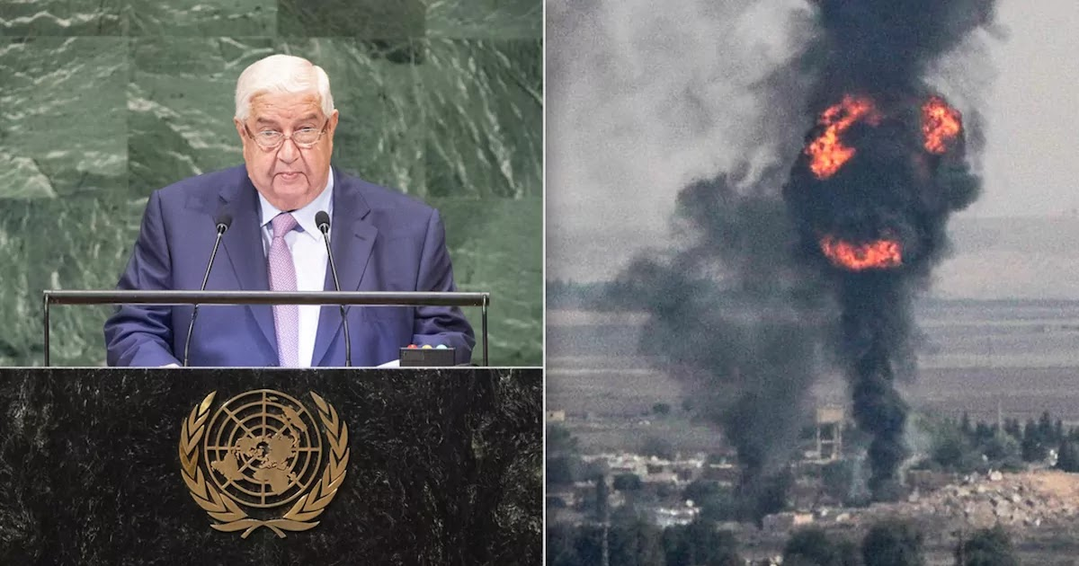 Syrian Foreign Minister Calls Turkey A Main 'Sponsor Of Terrorism' In Speech To United Nations General Assembly