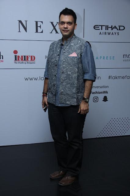 Designer Nachiket Barve at Grazia Young Fashion Awards 2017