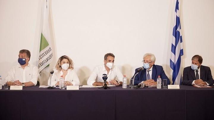 Κυρ. Μητσοτάκης: Η χώρα δεν θα ξανακλείσει