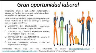 📂 Empleos en Cali Hoy como ayudante de produccion 💼  ▷ #Cali #SiHayEmpleo #Empleo