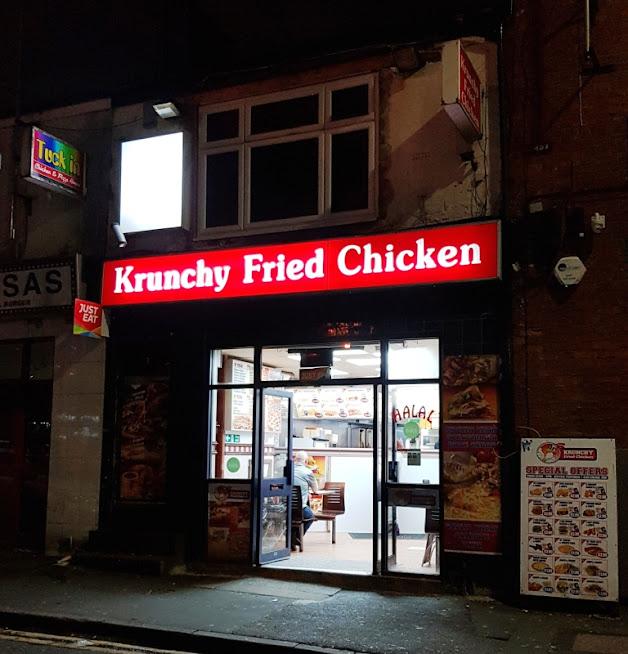 Krunchy Fried Chicken on Bloom Street in Manchester