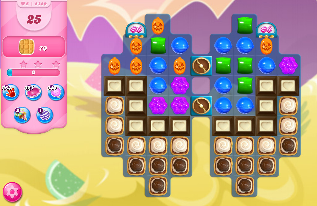 Candy Crush Saga level 8140