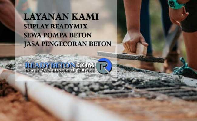 Layanan Beton Ready Mix Kami