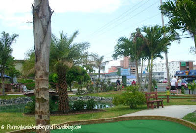 Garden of Eden Mini Golf in Ocean City Maryland