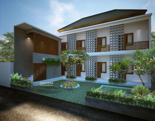 Konsep Desain Rumah Kost Mewah 6 Kamar