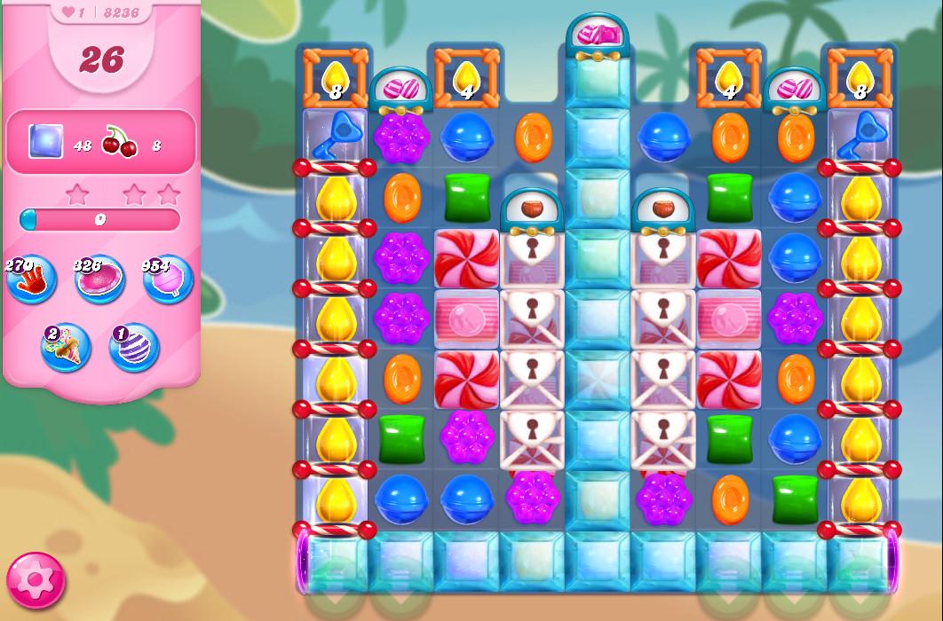Candy Crush Saga level 8236