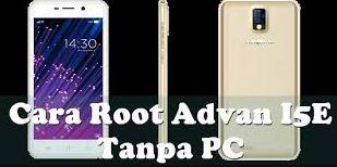 Cara Root Advan i5E tanpa PC