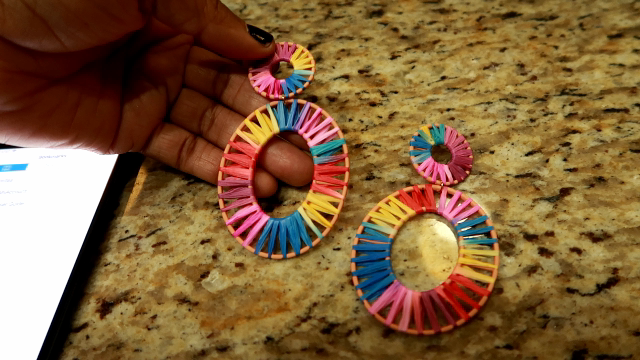 Image: Colorful earrings by New Edify on Amazon. Seen first on Bits and Babbles Blog