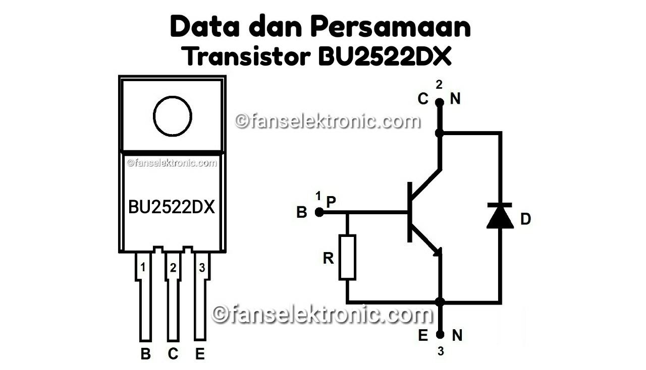 Persamaan Transistor BU2522DX