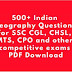 SSC CGL and CHSL Previous Year Geography Questions PDF Download