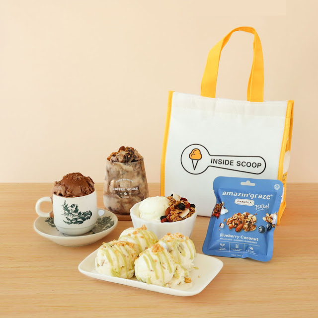 Kickstart the day with Inside Scoop's Breakfast Set, Inside Scoop Breakfast Set, ShopeePay, shopee, Inside Scoop, Food