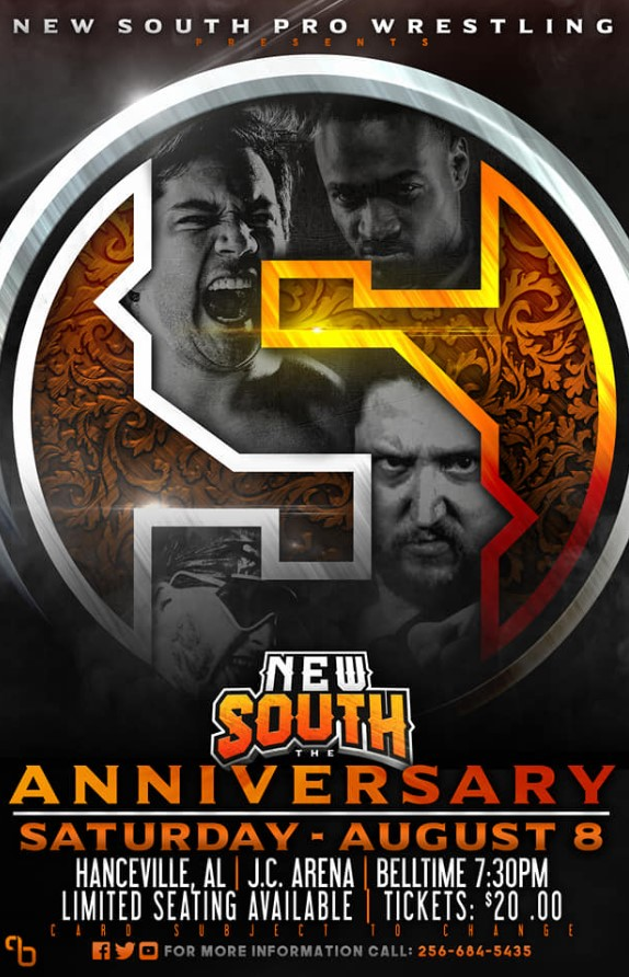 Review: New South Pro Wrestling's Anniversary Show '5'