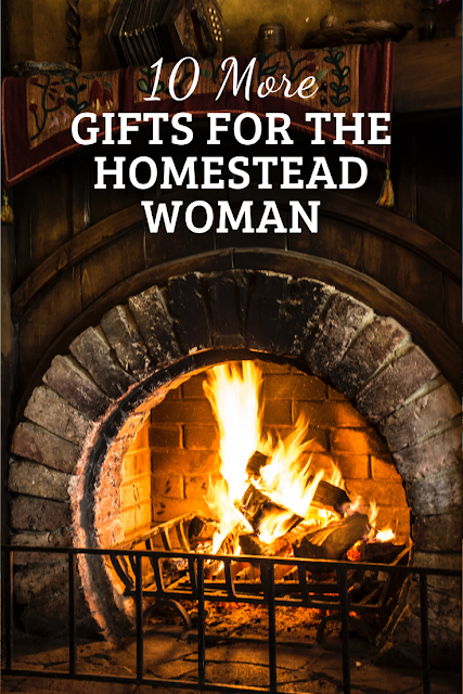 What do you give a homesteading woman? Here are gift ideas.