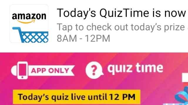 Amazon Quiz 8th January 2020 Answer Raveled Win Samsung