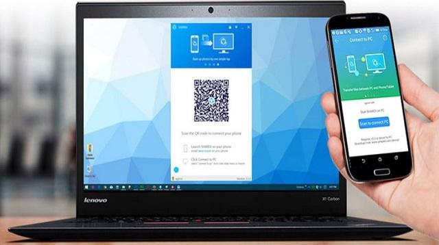 Cara Menyambungkan Shareit HP ke Laptop