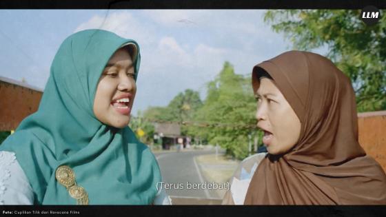 Tonton Tilik, Film Pendek yang Gambarin Dua Kubu Netizen Indonesia, Seru Nih, Berita Lucu, Film Lucu