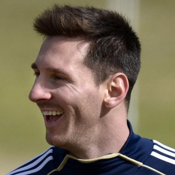 Todos Los Peinados De Messi - Leo Messi rubio Nuevo peinado contra el Celtic Sport