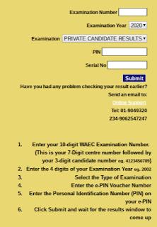 WAEC Announces 2020 Result