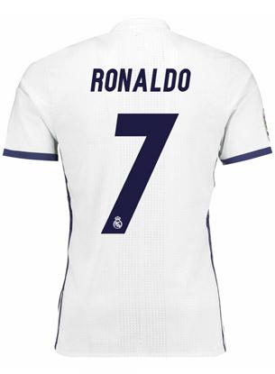 camiseta Real Madrid Cristiano Ronaldo 2016 2017 número