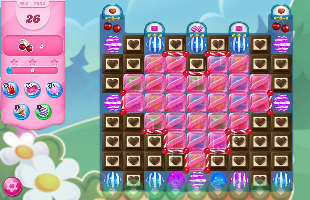 Candy Crush Saga level 7983